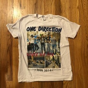 Tops - One Direction concert tee